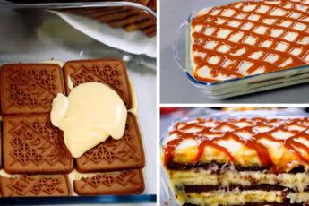 Мягкий, пропитанный, простой в приготовлении торт без выпечки