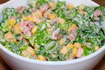 Если гости на пороге, готовлю быстрый салат – спасатель! И ничего варить не нужно