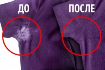 Как вывести с одежды белые пятна от дезодоранта, не испортив ткань