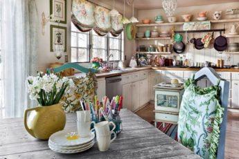 Роскошные кухни в стиле шебби шик от лучших дизайнеров
