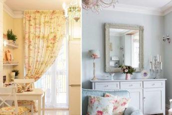 Интерьер в стиле прованс: 8 деталей, которые добавят квартире изюминку