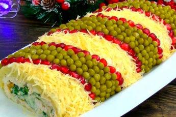Яркий и красивый салат «Король стола»