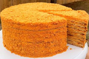 Медовый торт с изумительным кремом