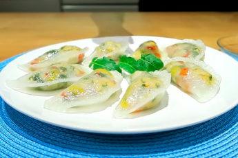 Пpoзрачные вареники — красивое и вкусное блюдо, как в ресторане!