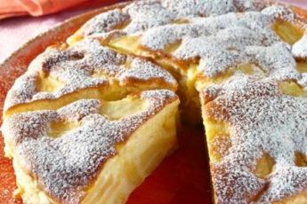 Самый нежный итальянский пирог с яблоками «Праздничный»